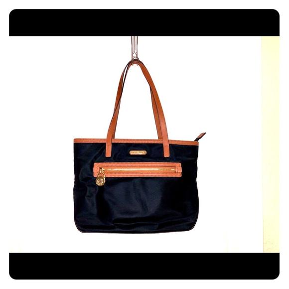 MICHAEL Michael Kors Handbags - Michael Michael Kors Kempton Black Nyon Small Tote